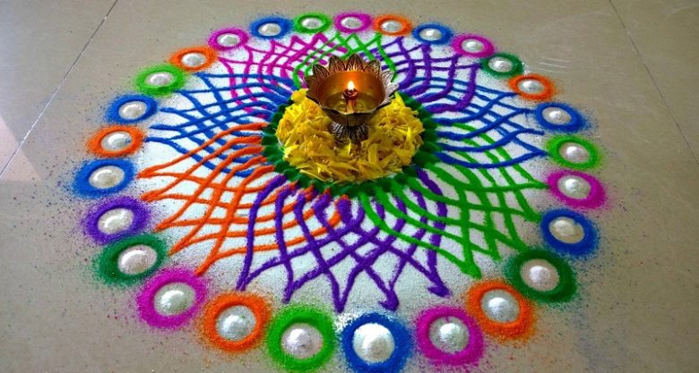 Happy Diwali Rangoli Designs Patterns 2018 Free Download Simple