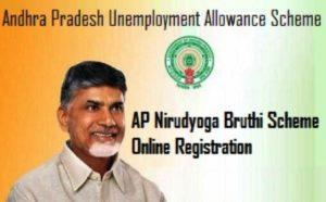 AP Nirudyoga Bhruthi /Mukhyamanthri Yuva Nestham Scheme 2018