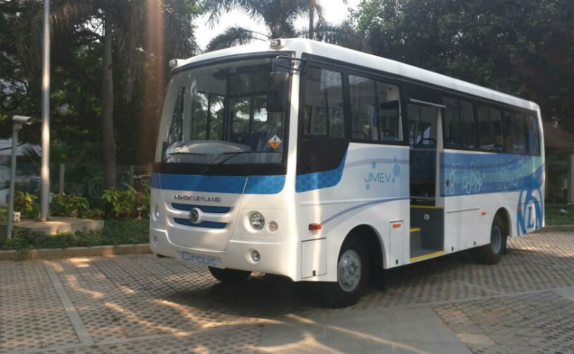 Ashok Leyland Launches First Made-In-India Electric Bus
