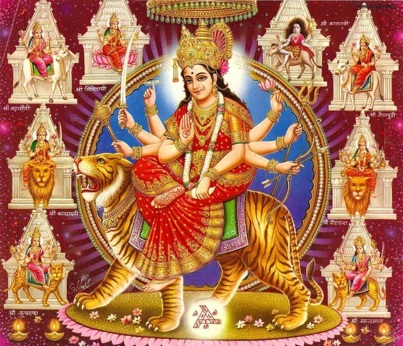 Happy Navratri Maa Durga Photos