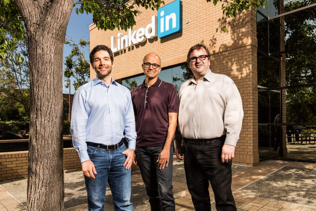 Microsoft to acquire LinkedIn