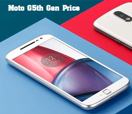 Moto G5 & Moto G5 Plus Features, Specifications, Release Date