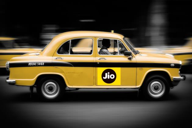 Reliance Jio cab service
