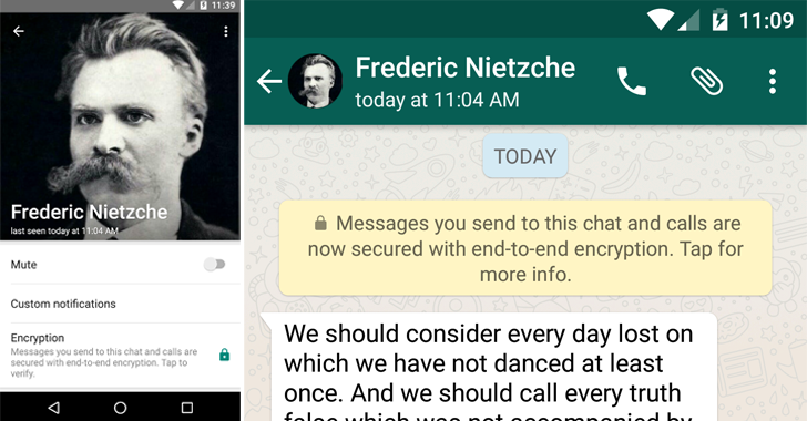 WhatsApp Adds End-to-End Encryption For All 1 Billion Users