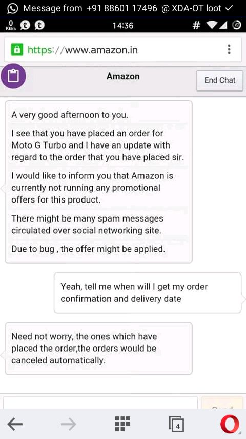 Price Orders Cancel Of The To Rs Moto All Its Mobile Bug G Said Company Amazon For Error 4999 - Turbo
