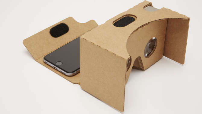 Google Cardboard VR Viewer at 15 dollars on Google Store