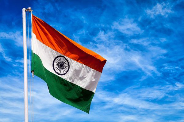 69th Republic Day indian flag