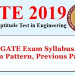 GATE 2019 Syllabus, Exam Pattern, Previous Papers