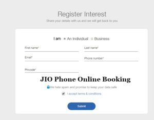 How To Buy JIO Phone Registration Online @ Rs 1500 – JIO Phone Booking Link in Myjio App, Jio.com