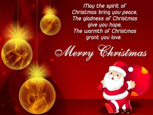 Top 100 Merry Christmas Quotes Wishes Messages SMS 2018 For Friends ...