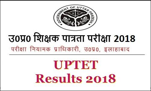 UPTET Results 2018