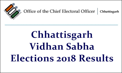 Chhattisgarh Vidhan Sabha Elections 2018 Results
