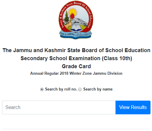 jkbose 10th results 2018 jammu region