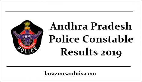AP Police Constable Result 2019