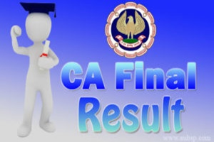 ICAI CA Final Result 2018