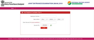 JEE Main Result 2019