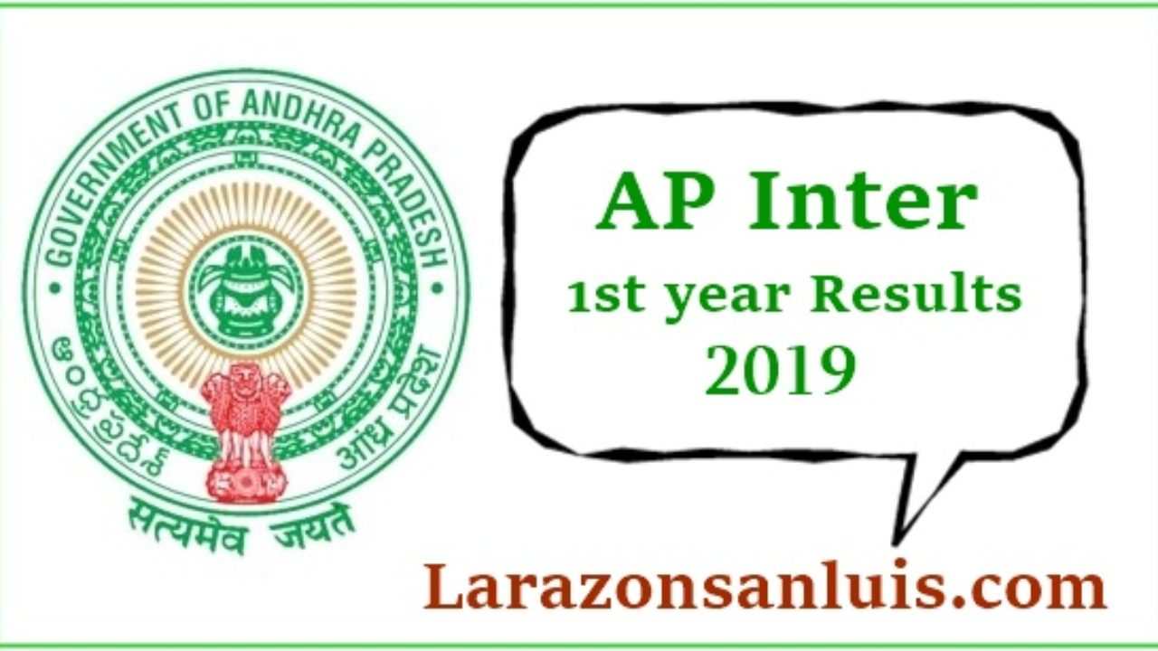AP Intermediate 1st Year Results 2019 (Released) - Manabadi