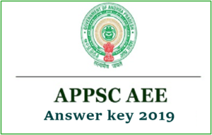 APPSC AEE Answer Key 2019