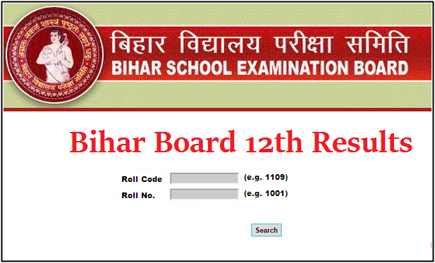 Bihar Board Intermediate Result 2019
