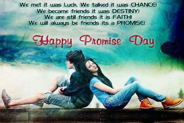 Happy Promise Day Wallpapers