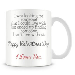 valentine's day printed cup
