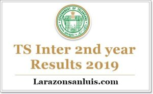 TS Inter 2nd Year Results 2019