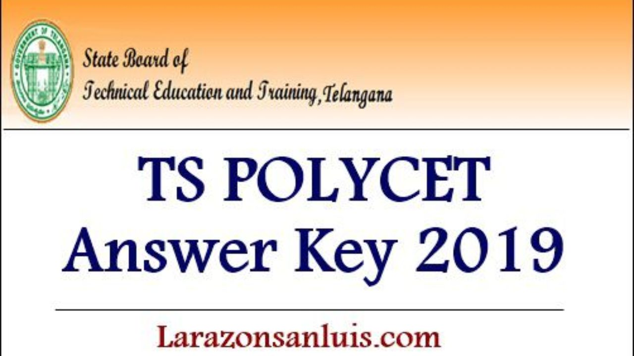Telangana/TS POLYCET Answer key 2019 (Released) - Download TS CEEP
