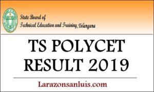 TS POLYCET Results 2019