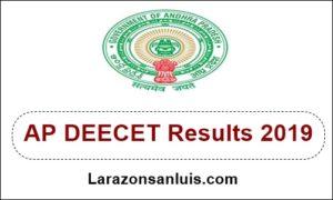 AP DEECET Results 2019