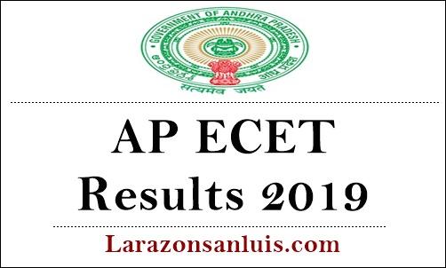 AP ECET Results 2019