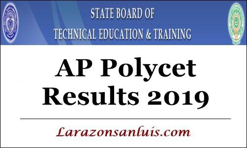 AP Polycet Results 2019