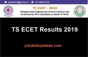 TS ECET Results 2019