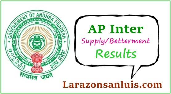 AP Inter 1st & 2nd year Supply Betterment Results 2019