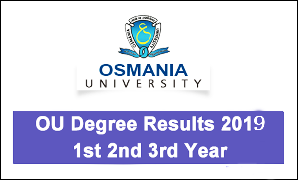 OU Degree Results 2019 (Declared) - Manabadi 2nd 4th 6th Sem Results
