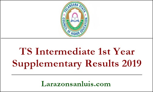 TS Intermediate 1st Year Supplementary Results 2019