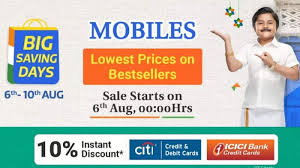 Flipkart Big Saving Days Offer 6 Smartphones at Less Price